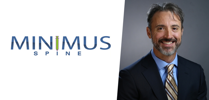 MINIMUS SPINE ENROLLS 30TH SUBJECT TO STUDY TRIOJECTION VS DISCECTOMY<br>